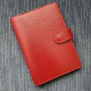 Louis Vuitton Epi Leather Agenda PM